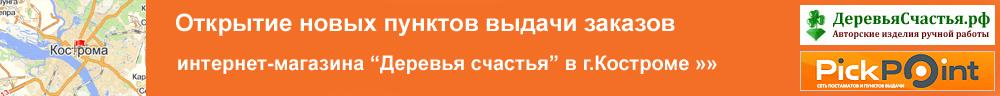 Постаматы и пункты выдачи в Костроме и Костромской области