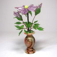Волшебный цветок из бисера