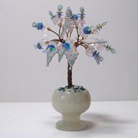 Миниатюрное дерево счастья из кварца