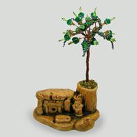 Дерево счастья из циркона, охраняющее дольмен