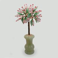 Дерево из розового кварца Романтичные сны. Купить изделие из розового кварца