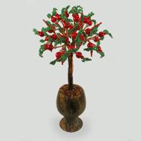 Дерево из коралла Счастье пришло. Купить изделие из коралла