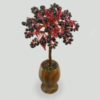 Дерево из граната Гранатовое счастье. Купить изделие из граната