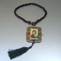 Четки христианские Свет из орехового дерева. Купить христианские четки