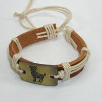 Купить кожаный браслет Овен. Купить мужские и женские кожаные браслеты