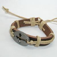 Купить кожаный браслет Будимир с крестом. Купить мужские и женские кожаные браслеты
