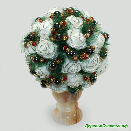 Цветы из гематита Успех
