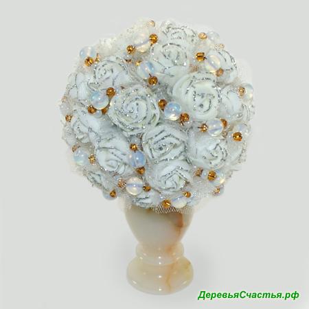 Цветы из лунного камня Белый танец