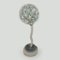 Дерево-топиарий из лунного камня Свет луны