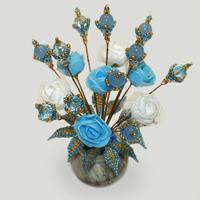 Цветы из топаза «Топазовый рассвет»
