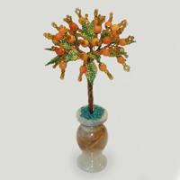 Дерево из желтого агата Агатовая рапсодия