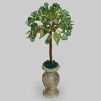 Дерево из нефрита «Торжество весны»