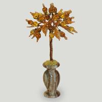 Дерево из янтаря «Солнечная верность»