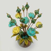 Цветы из нефрита «Нефритовое очарование»
