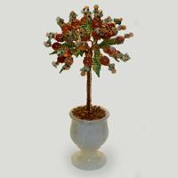 Дерево из сердолика «Солнышко лесное»
